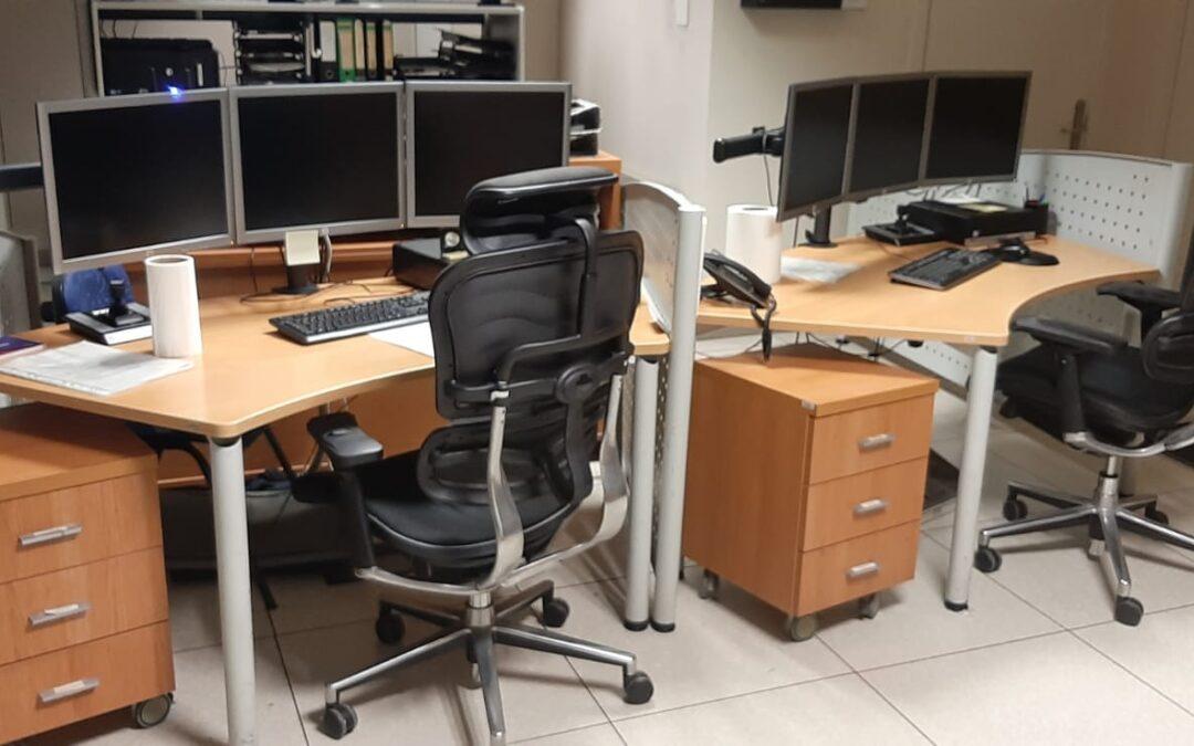 Mobiliario para la policía municipal de Getxo